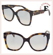 GUCCI SYLVIE 0459 Havana Oversized Blue Gradient Sunglasses GG0459S Authentic - $257.40
