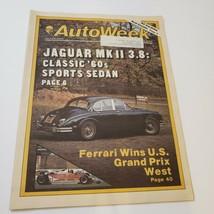 AutoWeek Magazine April 23, 1979 Jaguar MK II 3.8  Ferrari Wins US Grand... - $10.56
