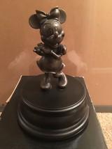 Extremely Rare! Walt Disney Minnie Mouse Bronze Figurine Statue - $445.50