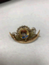 Antique Victorian 18k rose gold brooch - $938.00