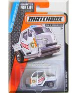 Matchbox - Meter Maid: MBX Adventure City #2/120 (2015) *White Edition* - $5.99