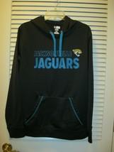 Jacksonville Jaguars Hoodie Sweatshirt Sz L NFL Team Apparel TX3 Warm - $19.95