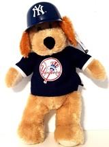 "Major League Baseball 2008 New York Yankees Plush Bear w/ Batter Hat 14"" - $21.56"