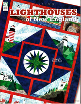 Lighthouses of New England by Connie Rand (2006, Quilting Paperback) - $2.50