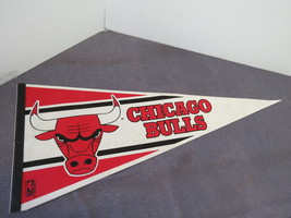 Chicago Bulls Pennant - From the Early 1990s - In Excellent Condition !! - $45.00