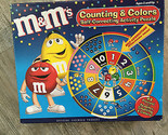 NEW M&Ms Counting & Colors Self-Correcting Activity Puzzle 44 Pieces