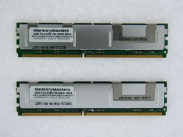 NOT FOR PC! 8GB 2x4GB PC2-5300 ECC FB-DIMM for Dell PowerEdge 1950 III TESTED