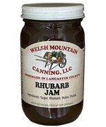 RHUBARB JAM - 100% All Natural Preserves Amish Homemade Sweet & Tangy Sp... - $5.91+