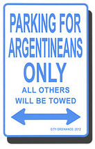 Argentina parking sign 713 thumb200
