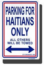 Haiti Parking Sign - $11.94