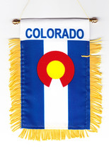 Colorado Window Hanging Flag - $3.30