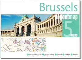 Brussels Popout Map - $8.34
