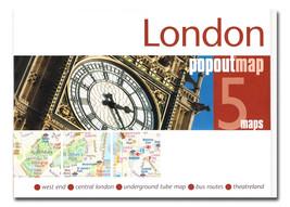 London Popout Map - $8.34