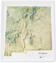 New Mexico Relief Map - $35.94