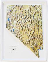 Nevada Relief Map - $35.94