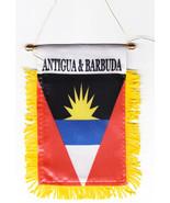 Antigua and Barbuda Window Hanging Flag - $3.30
