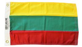 """Lithuania - 12""""X18"""" Nylon Flag - $21.60"""