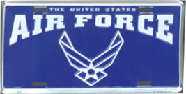 Air Force (Style 2) License Plate - $11.94
