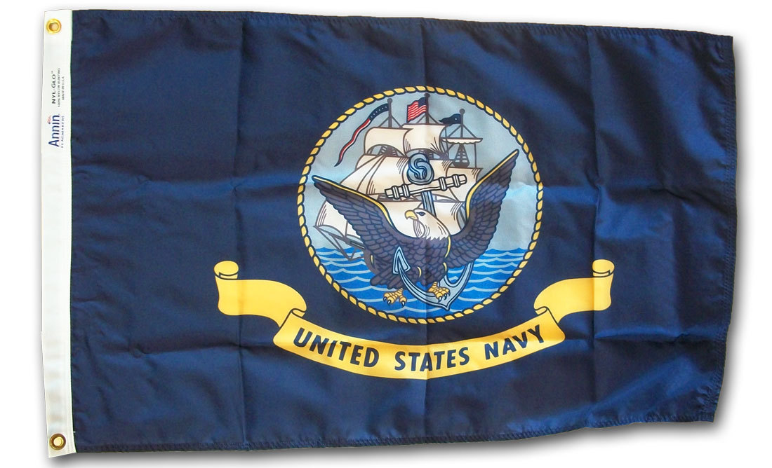 Navy - 4'X6' Nylon Flag