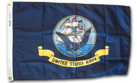 Navy - 4'X6' Nylon Flag - $72.00