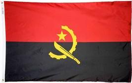 Angola flag 3x5nylon new 2 thumb200