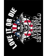 Avenged Sevenfold Textile Poster (Love it or Die) - $18.00