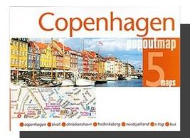 Copenhagen Popout Map - $8.34