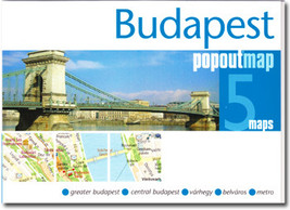 Budapest Popout Map - $8.34