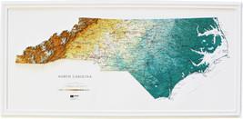 North Carolina Relief Map - $59.94