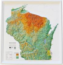 Wisconsin Relief Map - $35.94