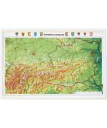 "Austria Relief Map- 21"" x 32"" - $53.70"