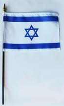 "Israel - 4""X6"" Stick Flag - $2.82"