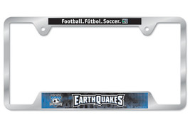 San Jose Earthquakes Metal License Plate Frame - $15.59