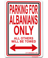 Albania Parking Sign - $11.94