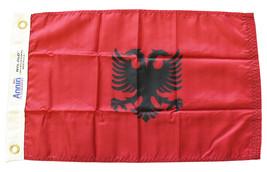 """Albania - 12""""x18"""" Nylon Flag - $25.20"""