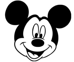 Mickey Mouse Smile Decal Sticker For Car Mirror Glass Diy Crafts Projects Diy - $3.99