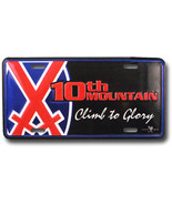 10th Mountain Division License Plate - $11.94