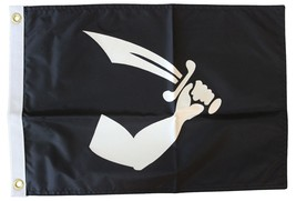 "Thomas Tew - 12""X18"" Nylon Flag - $15.00"