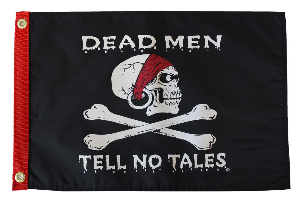 Dead men tell no tales12x18