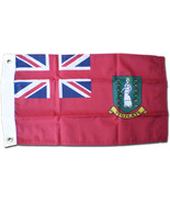 "British Virgin Islands - 12""X18"" Nylon Flag (Red) - $26.40"
