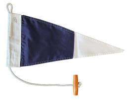 "2nd Substitute/Repeater (Size 0) - 8"" x 16"" Nylon Flag - $38.52"