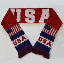 Usa Knit Scarf - $23.99