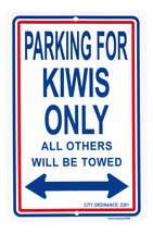 New Zealand Parking Sign - $11.94
