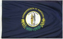 Kentucky - 5'X8' Nylon Flag - $110.40