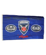 11th Airborne Division - 3'X5' Polyester Flag - $15.60
