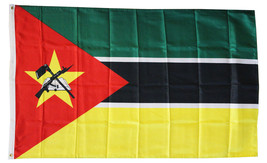 Mozambique - 3'X5' Polyester Flag - $15.60