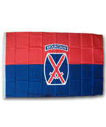 10th Mountain Division - 3'X5' Polyester Flag - $15.60