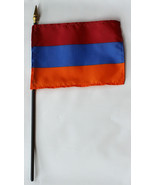 "Armenia - 4""X6"" Stick Flag - $2.82"