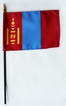 "Mongolia - 4""X6"" Stick Flag - $2.82"