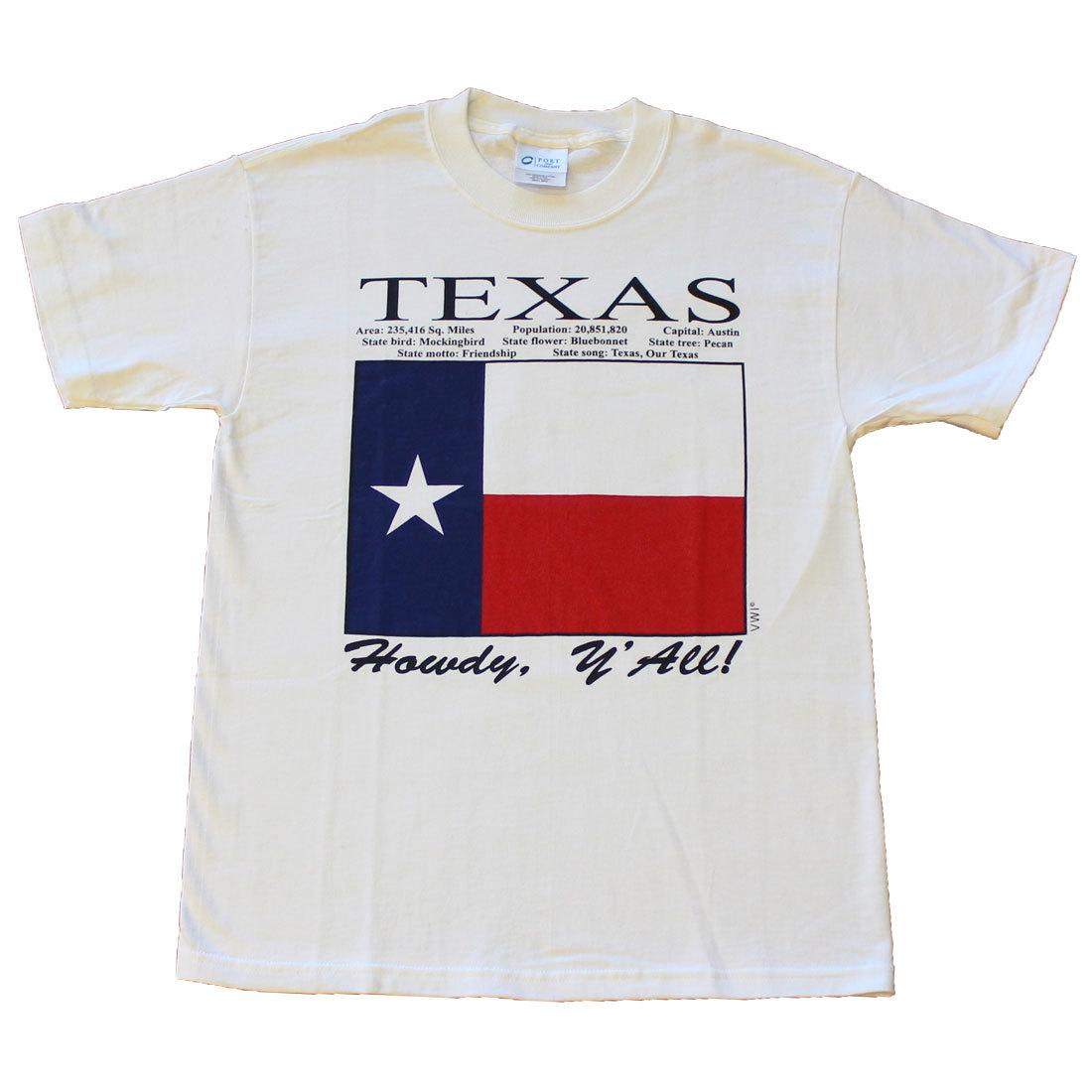 Texas State T-Shirt (L)